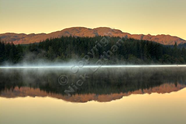 Beinn Bhreac and Loch Ard Forest