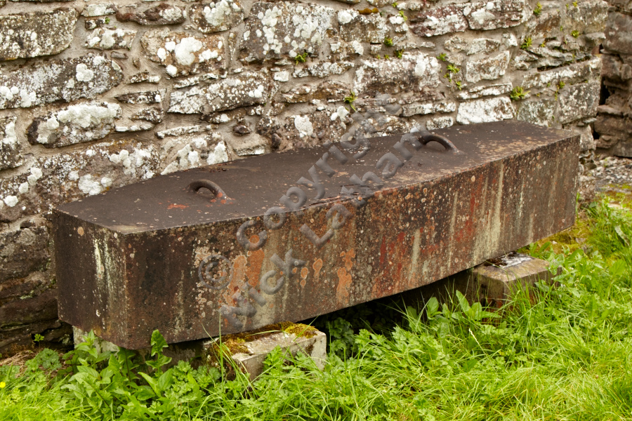 A grave safe in Kirkton Cemetery