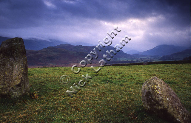 Lakes Lake District monument historic hill mountain cloud stormy visitor tourist tourism Keswick