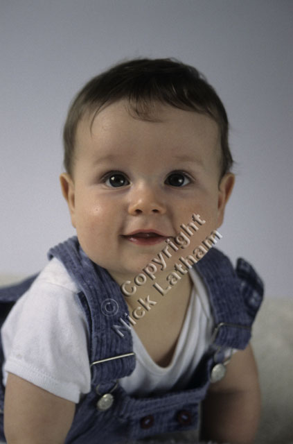 child smile portrait baby boy