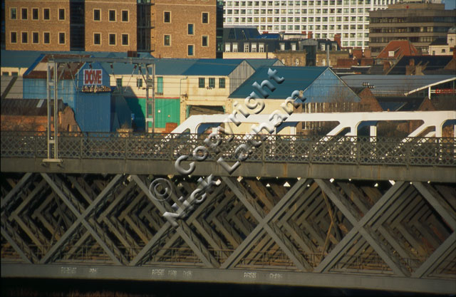 competition theme urban shapes bridge industrial window building Newcastle Upon Tyne