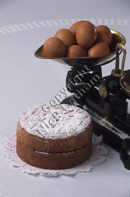 Victorian Food Company white background scales eggs traditional