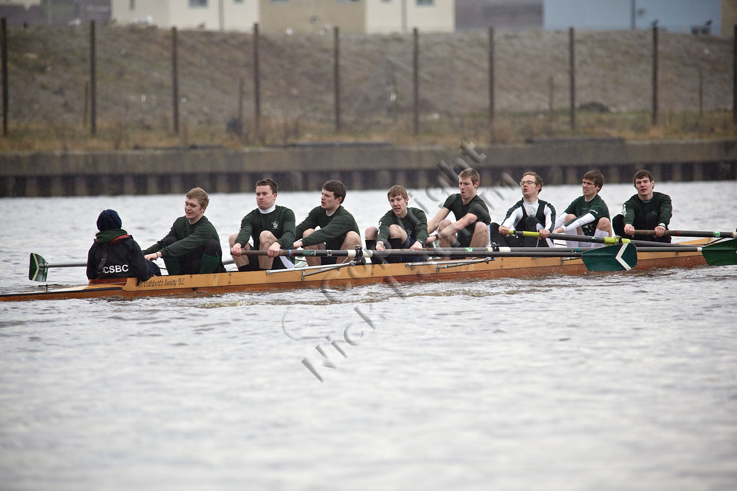 Mens eight mid-course