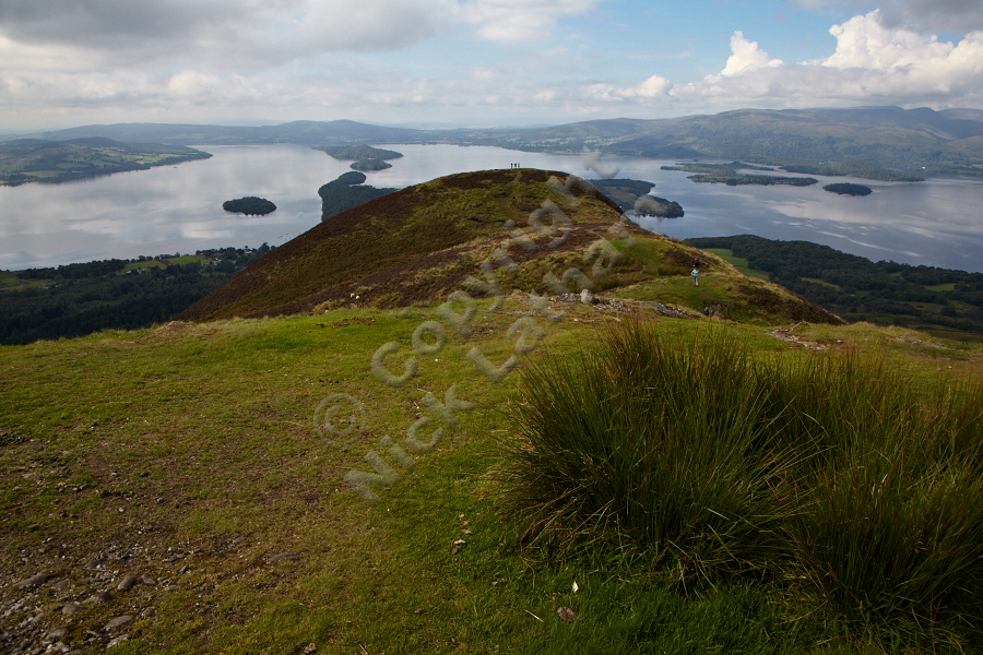 Loch Lomond and its islands from Conic Hill